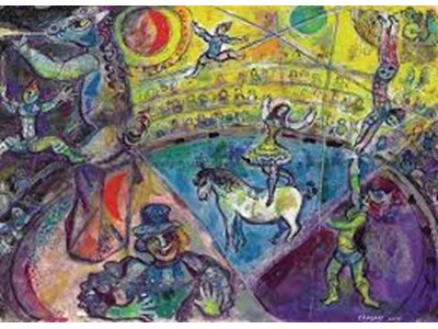 Chagall, Marc - The Circus Horse