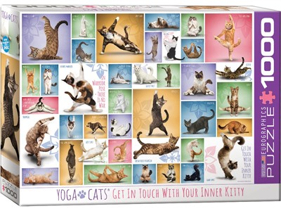 Yoga Cats - Get in touch with your inner Kitty