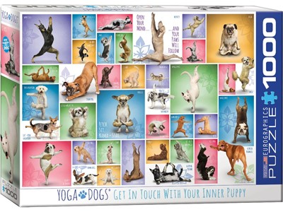 Yoga Dogs - Get in touch with your inner Puppy!