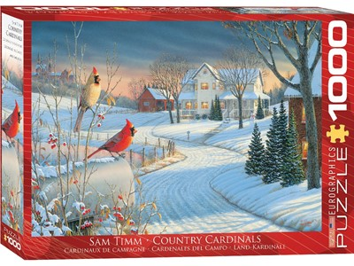 Country Cardinals by Sam Timm
