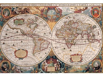 Orbis Geographica Antique World Map