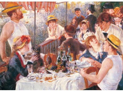 The Luncheon by Pierre-August Renoir