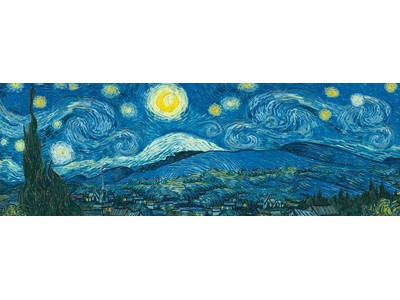 Starry Night - Vincent van Gogh - Panorama