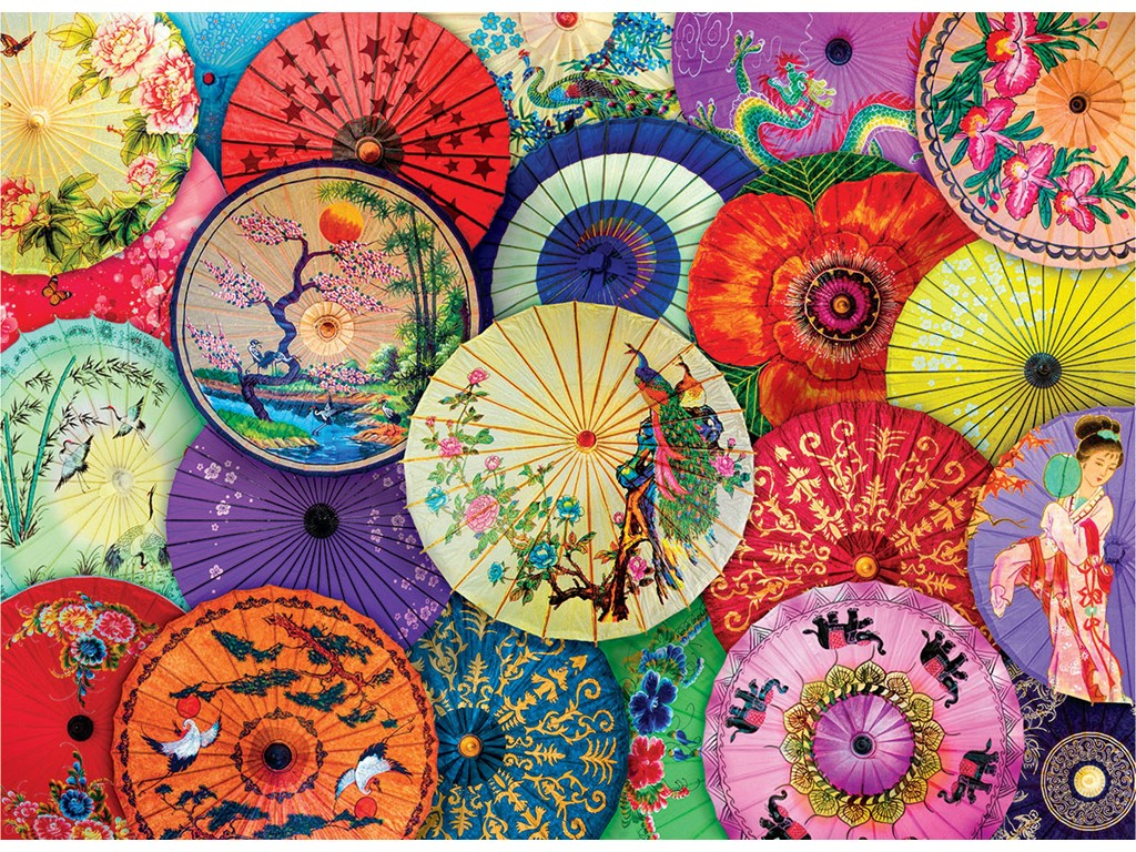 Asian Oli-Paper Umbrellas