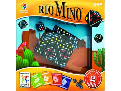 RioMino. Fast strategy game