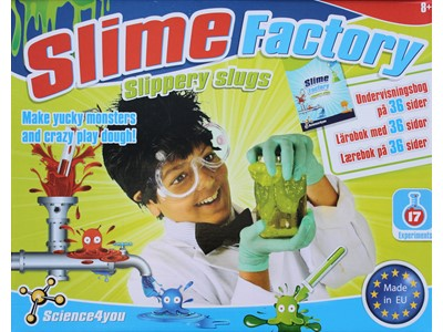 Science 4 You - Slimy Factory - Slippery slugs