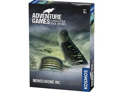 Adventure Games - Monochrome Inc.
