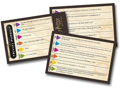 Trivial Pursuit - Harry Potter 600 questions