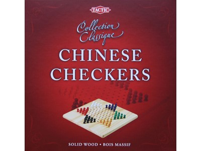 Kina Skak. Træspil - Chinese Checkers. Collection Classique