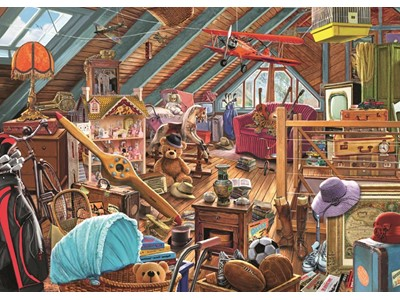 Toys in the attic by Steve Crisp