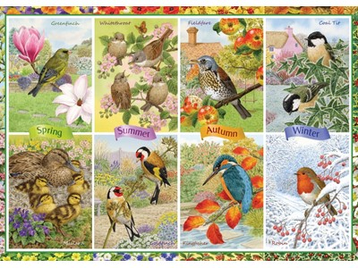 Seasonal garden birds