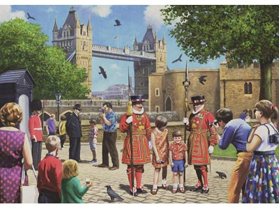 Beefeater at the Tower by Kevin Walsh