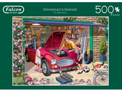 Grandads garage by Vie McLindon
