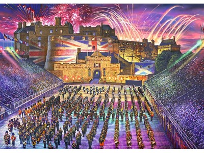 Edinburgh Tattoo by Steve Crisp