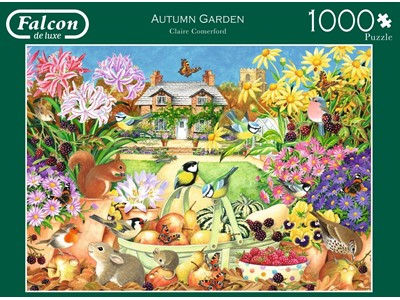 Autumn Garden by Claire Comerford