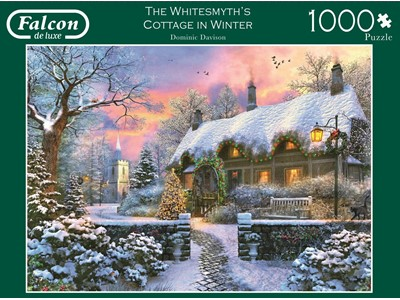 The Whitesmyth´s Cottage in Winter by Dominie Davison