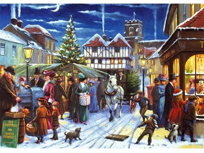 Christmas Market by Kevin Walsh