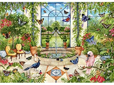 Butterfly Conservatory by Debbie Cook