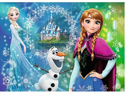 Frost - Power of sisters, Anna, Elsa og Olaf