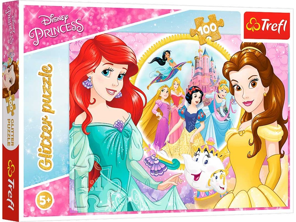 Disney Princess - Glitter puzzle