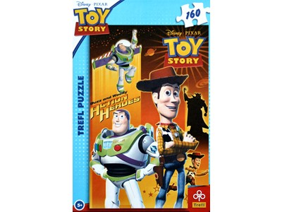 Toy Story. Buzz og Woody Action Heroes - Trefl - 160 brikker