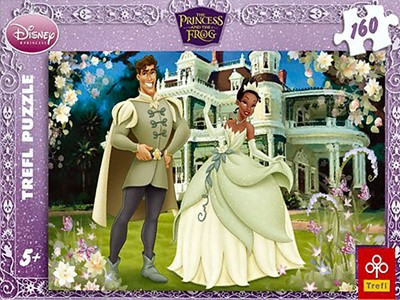 The Princess and the Frog - Trefl - 160 brikker