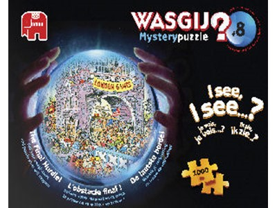 Wasgij? Mystery 8. The Final Hurdel! - Jumbo - 1000 brikker