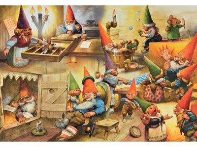 At home with the Gnomes