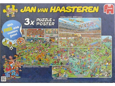 Football Crazy! - Championshio Football - Goal - Jan van Haasteren
