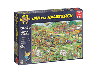Lawn Mover Race - Jan van Haasteren