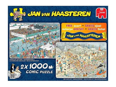 New Years Dip + Eleven City Ice Tour + Jan van Haasteren Halsterklæde