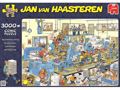 The printing office - Jan van Haasteren