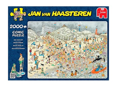 New Years dip - Jan van Haasteren