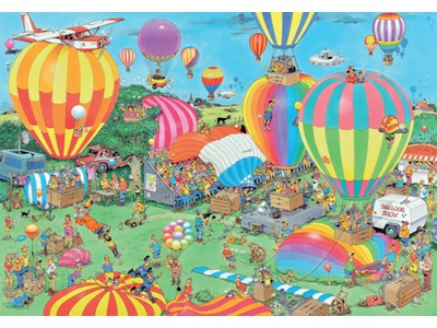 The Ballon Festival - Jan van Haasteren