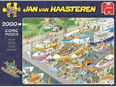 The Locks - Jan van Haasteren