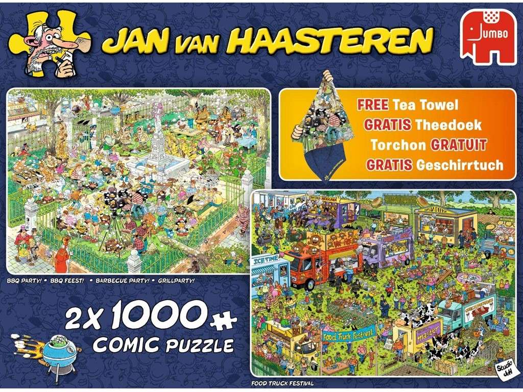 BBQ Party / Food Truck Festival + 1 Jan van Haasteren viskestykke