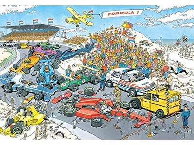 Formula 1, The start - Jan van Haasteren