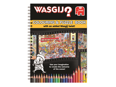 Wasgij? Colouring Book & puzzle book in one
