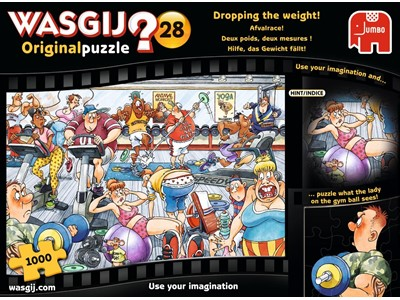 Wasgij? 28 Dropping The Weight