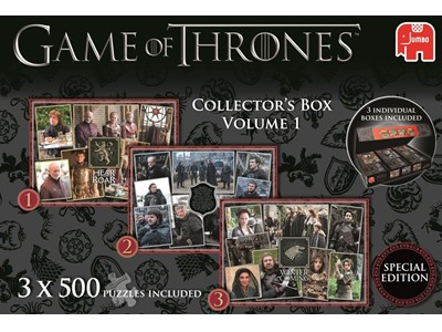 Game of Thrones Collestors Box Volume 1