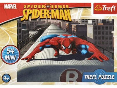 Spiderman Spider Sense Toget - Trefl - 54 brikker