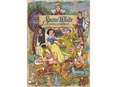 Disney Snow White and the Seven Dwarfs (Snehvide og de syv små dværge)