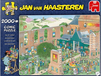 The Art Market - Jan van Haasteren