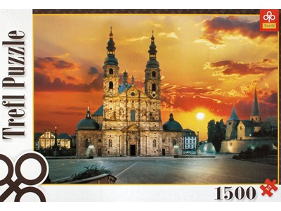 Cathedral and St. Michael Church. Hesse - Trefl - 1500 brikker