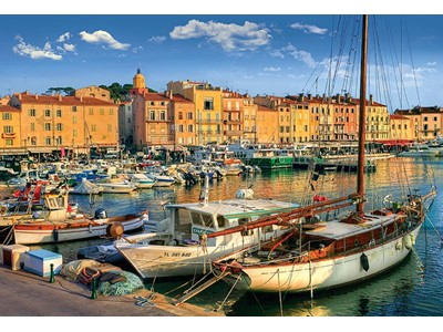 Old Port in Saint Tropez