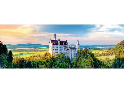 Neuschwanstein Castle, Panorama