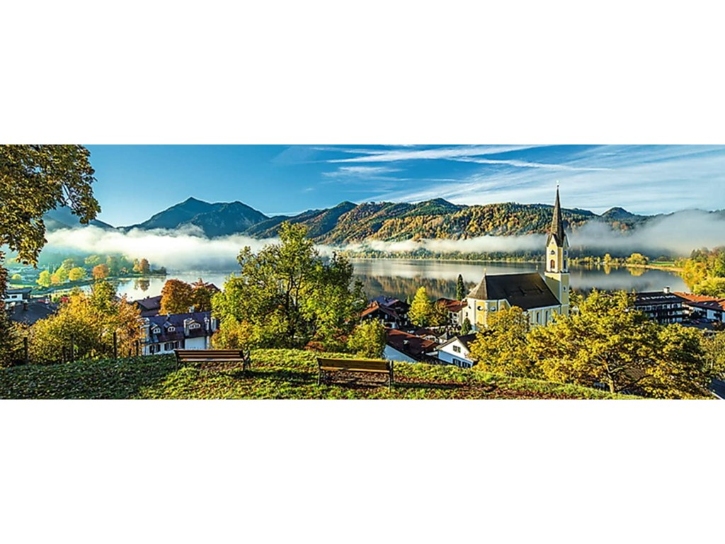 By the Schliersee lake - Panorama