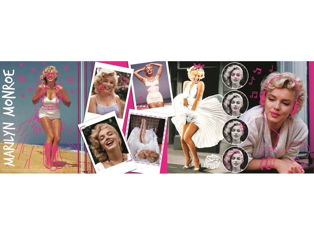 Marilyn Monroe collage - Panorama