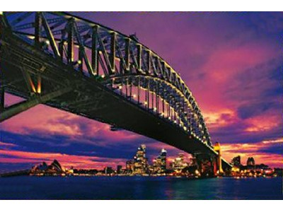 The Harbour Bridge, Sidney - Trefl - 500 brikker