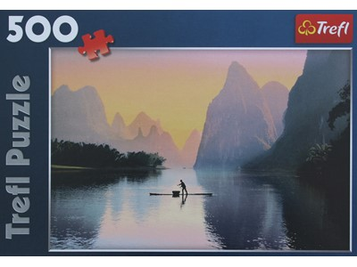 Lijang River. China - Trefl - 500 brikker